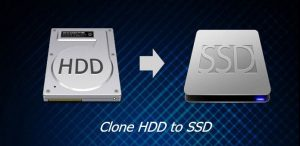 HDD to SSD