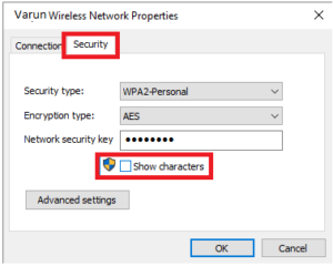 WiFi Password on Windows