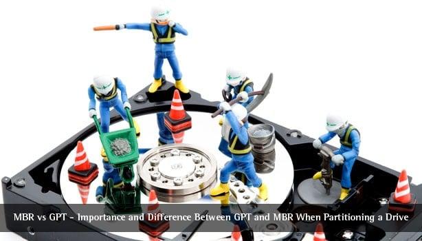 MBR vs. GPT