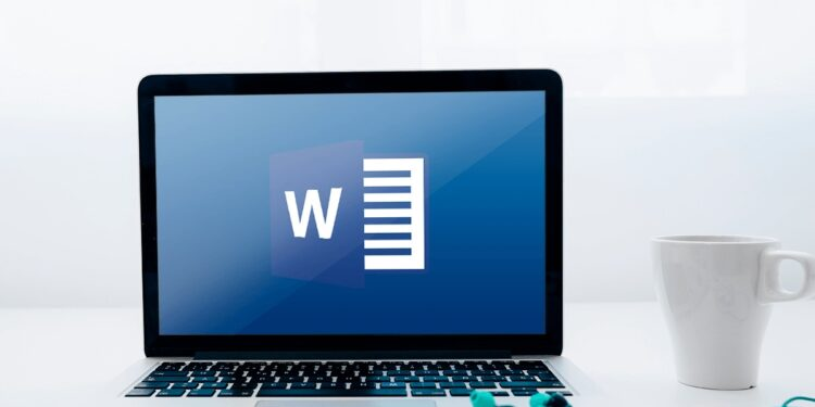 blank page in Microsoft Word